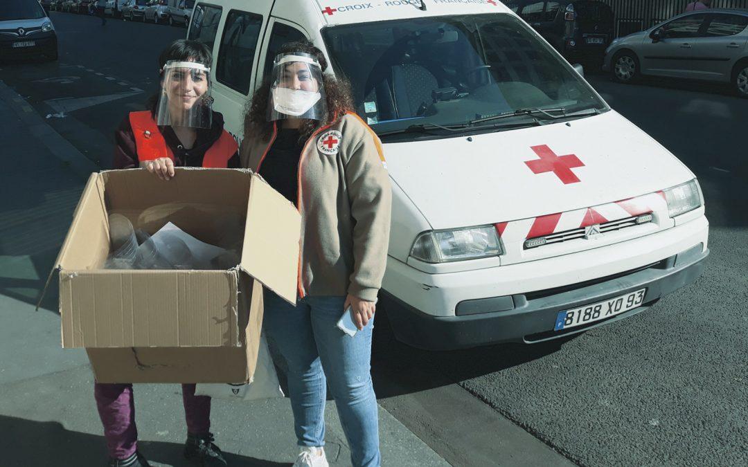 La Croix Rouge en soutien à une fabrique partagée éphémère